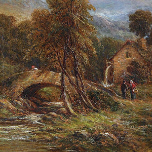 "Thomas, Henry (British) - "" Landscape""Oil on Canvas"