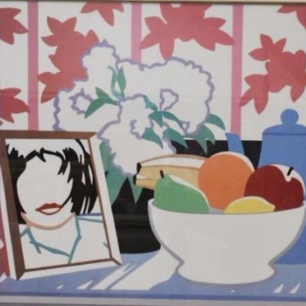 "Wesselmann, Tom - ""Still Life with Fruit, Flowers and Monica"" Serigraph"