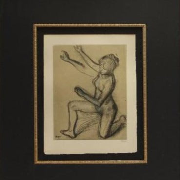 Degas, Edgar (French)-  Lithograph