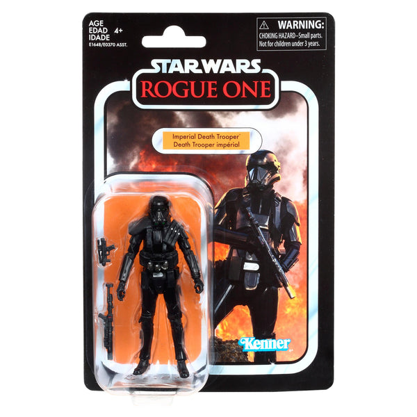 Star Wars The Vintage Collection Rogue One Death Trooper 3.75 Inch Action Figure