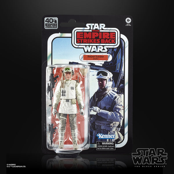 Star Wars The Black Series Rebel Soldier (Hoth) Figure ESB 40th Card