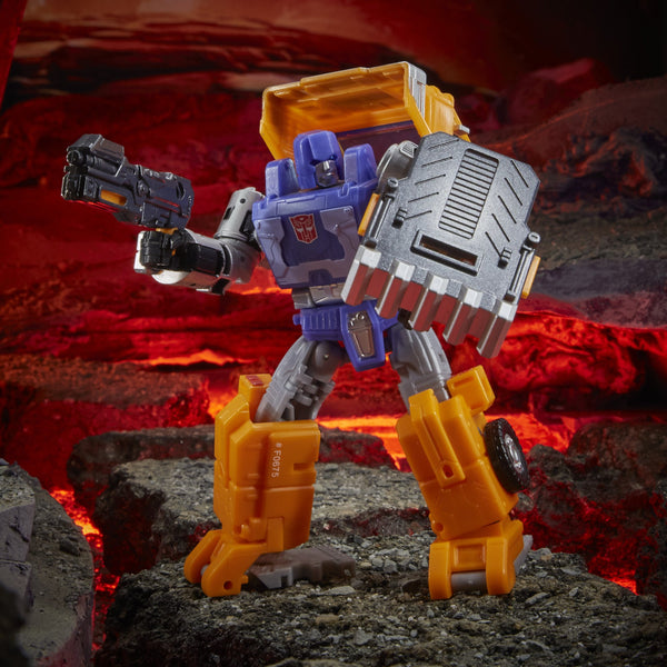 Transformers Generations War for Cybertron: Kingdom Deluxe WFC-K16 Huffer PRE-ORDER