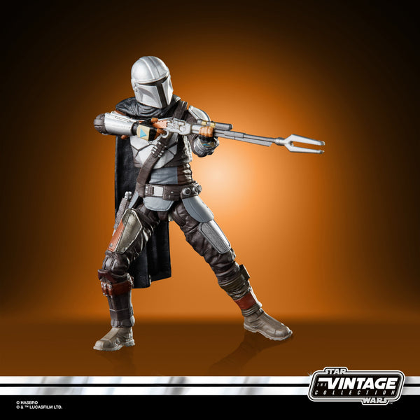 Star Wars The Vintage Collection The Mandalorian (Full Beskar) Action Figure PRE-ORDER