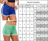 Women's Sports Sweat-absorbent Shorts Elastic Yoga Hot Pants - CHALIER
