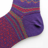 Womens Winter Super Warm Wool Knitted Vintage Premium Socks Set Crew Unisex Socks - CHALIER