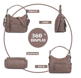 Women Daily Vintage Shoulder Messenger Bag