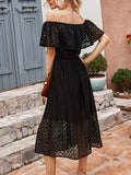 Women's Fashion Dress Design Lace Dress