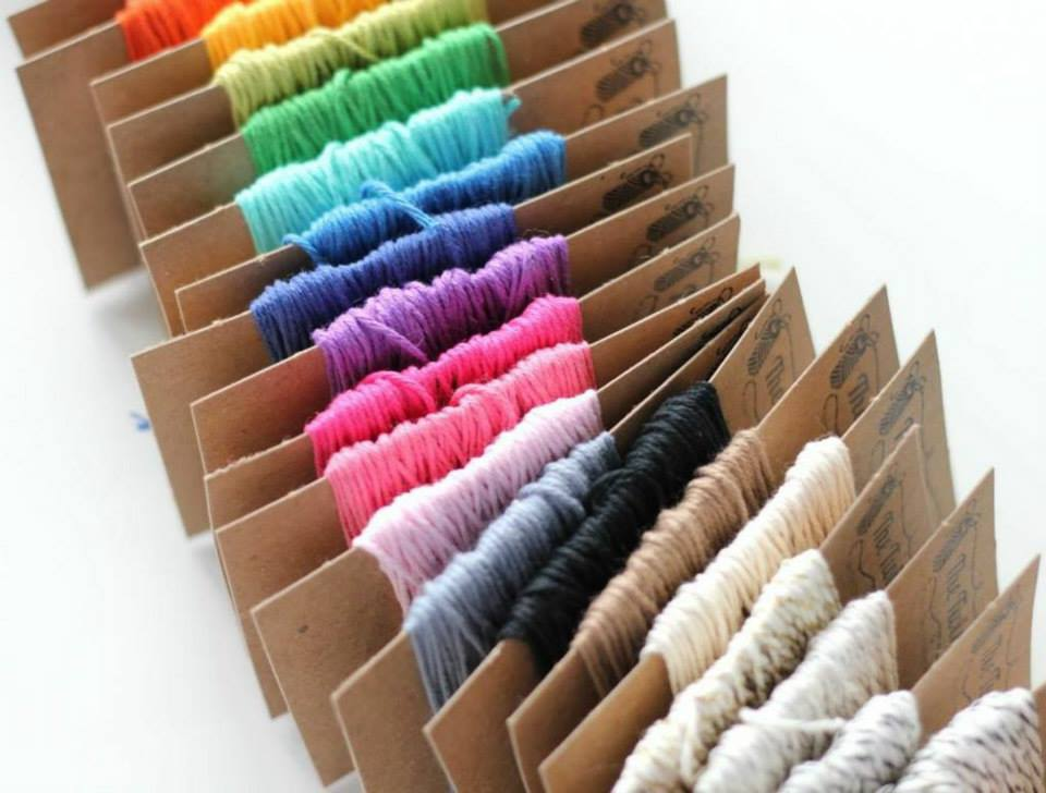 Solid Baker's Twine . 15 Yards . 16 Colors