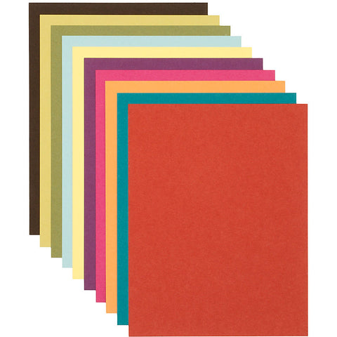 Solid Cardstock . 8.5 x 11 inches