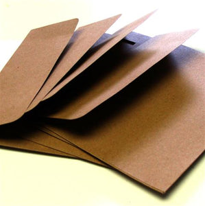 A7 Envelope with Square Flap (Natural Kraft)