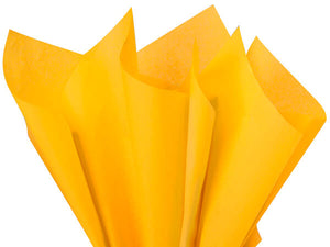 Goldenrod Yellow Tissue Paper