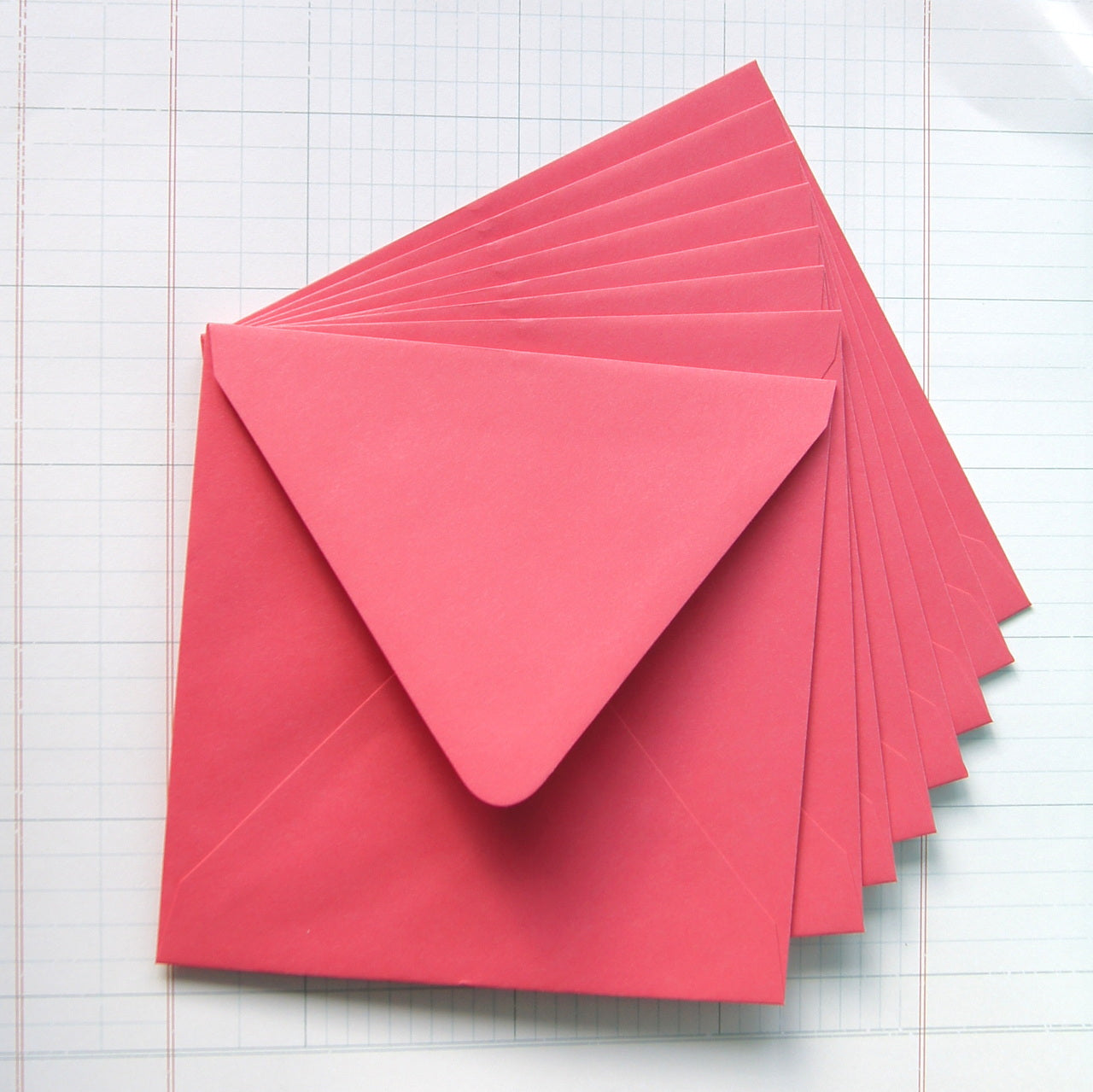 "5.75"" Square Envelope . 29 Colors"