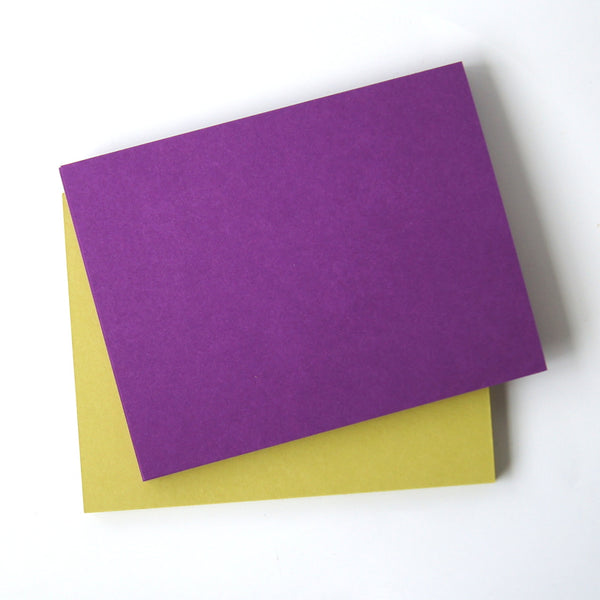 4x6 Flat Cards (39 Colors)