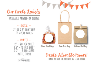 MASTER - Circle Stickers + Tags