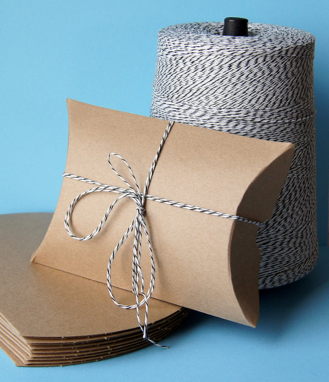 Kraft Pillow Boxes (Small) . 3.5x3x1.5