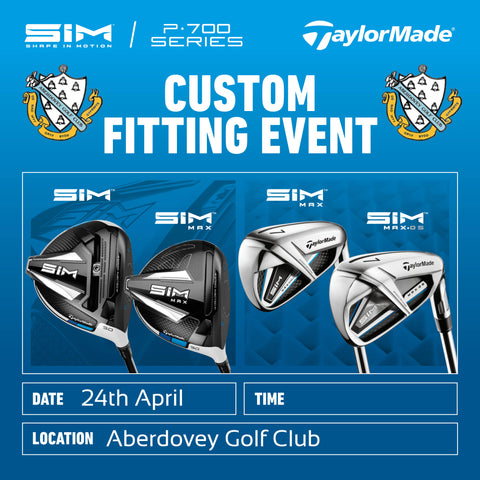 Taylor Made Custom Fitting Event