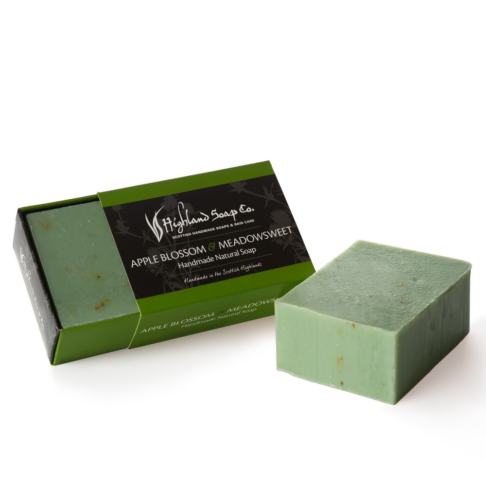 Apple Blossom & Meadowsweet Soap 190g