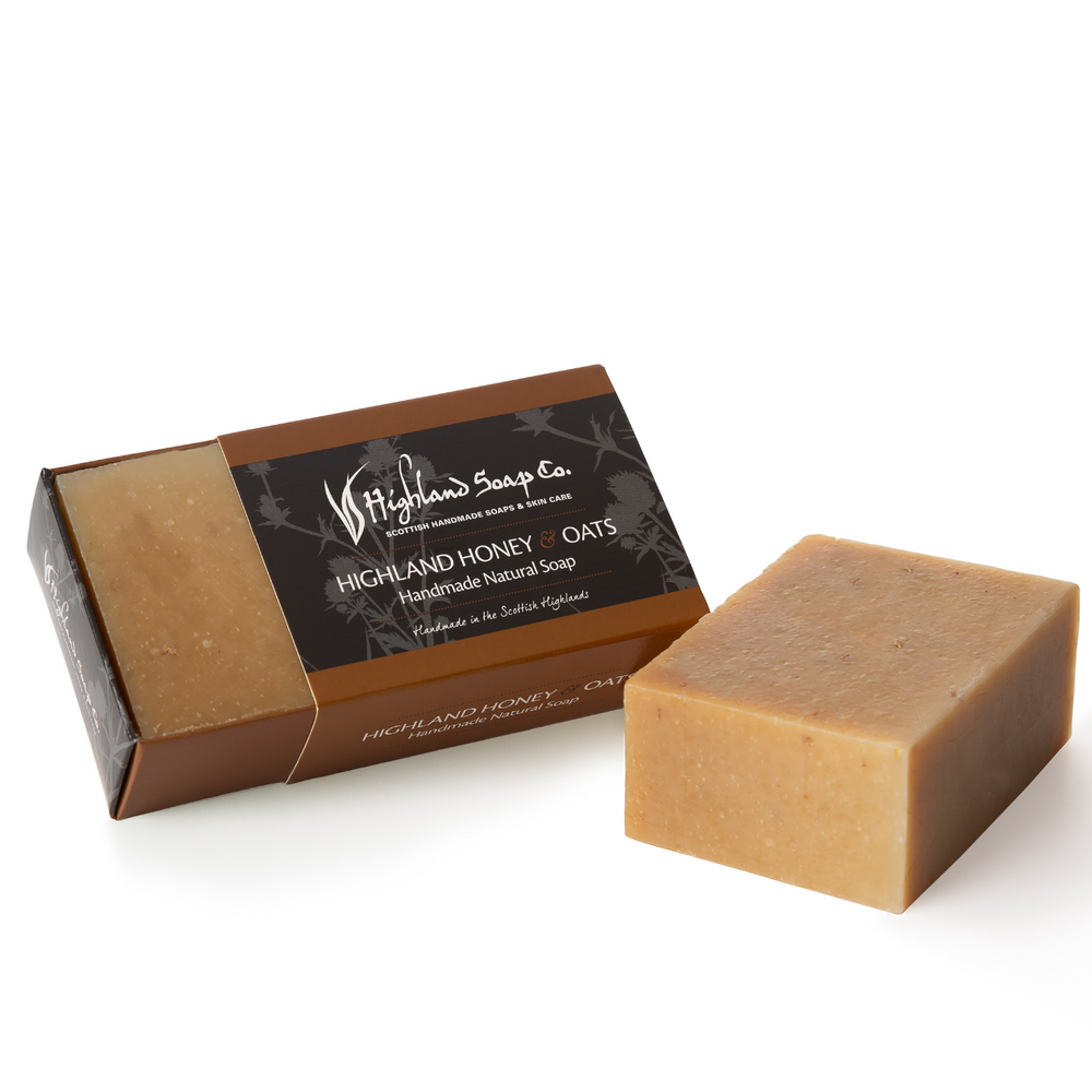 Load image into Gallery viewer, 2 for £9 - Handmade Soap 190g - HIghland Honey & Oat