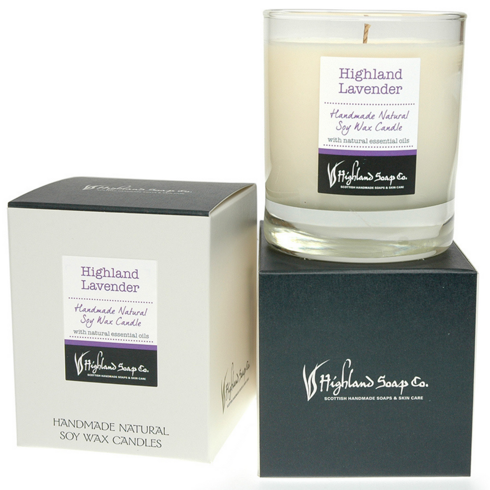 Highland Lavender Soya Wax Candle