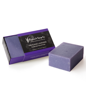 Load image into Gallery viewer, 2 for £9 - Handmade Soap 190g - Highland Lavender Cold Press