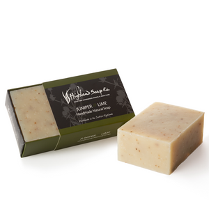Load image into Gallery viewer, 2 for £9 - Handmade Soap 190g - Juniper & Lime