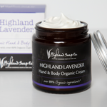 Highland Lavender Hand & Body Cream 120ml