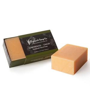 Load image into Gallery viewer, 2 for £9 - Handmade Soap 190g - Lemongrass & Ginger