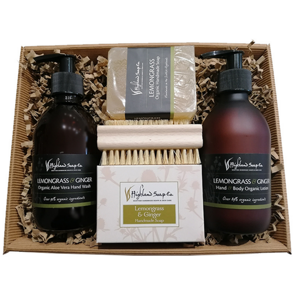 Organic Hand Wash & Lotion Gift Tray