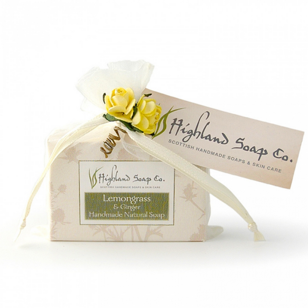 Lemongrass & Ginger Mini Soap Favour 35g