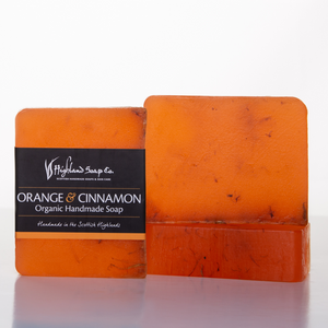 Load image into Gallery viewer, Sweet Orange & Cinnamon Soap 140g
