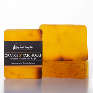 Load image into Gallery viewer, Sweet Orange & Patchouli Soap 140g