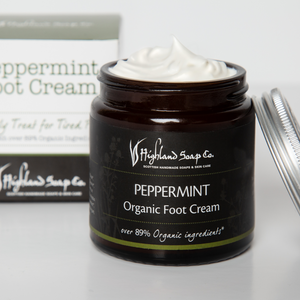 Load image into Gallery viewer, Peppermint Foot Cream 120ml