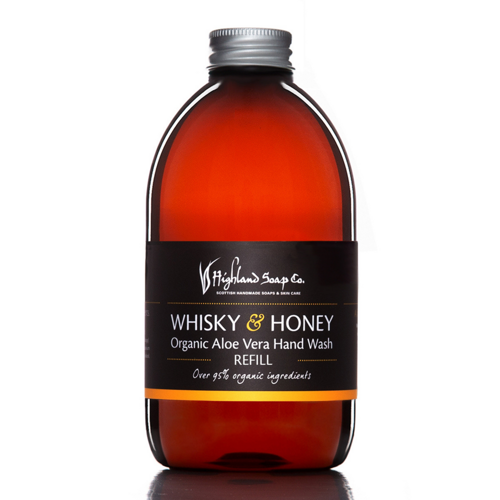 Whisky & Honey Hand Wash Refill