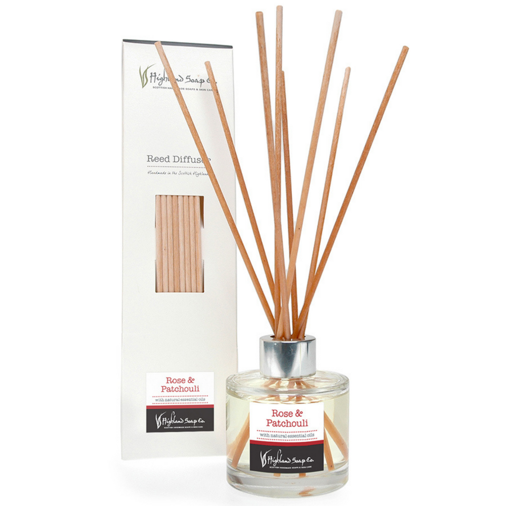 Rose & Patchouli Reed Diffuser