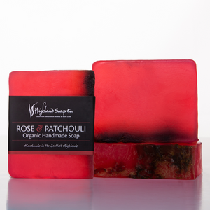 Load image into Gallery viewer, Rose & Patchouli Soap 140g