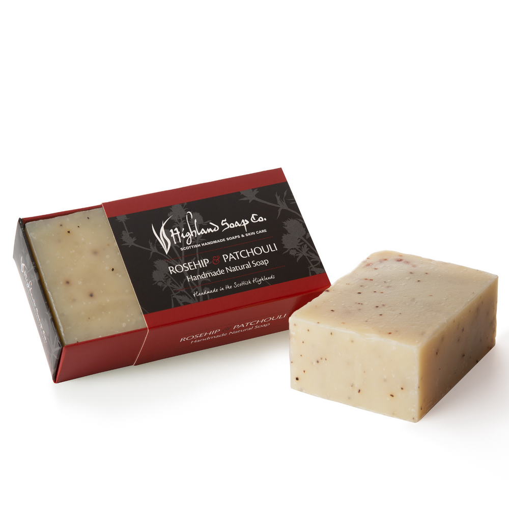 Load image into Gallery viewer, 2 for £9 - Handmade Soap 190g - Rosehip & Patchouli