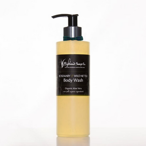 Load image into Gallery viewer, Rosemary & Wild Nettle Body Wash 250ml