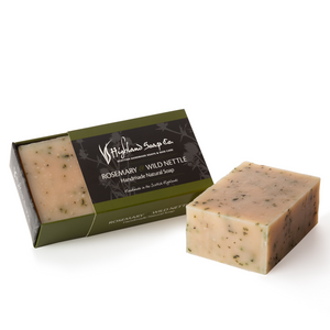 Load image into Gallery viewer, 2 for £9 - Handmade Soap 190g - Rosemary & Wild Nettle
