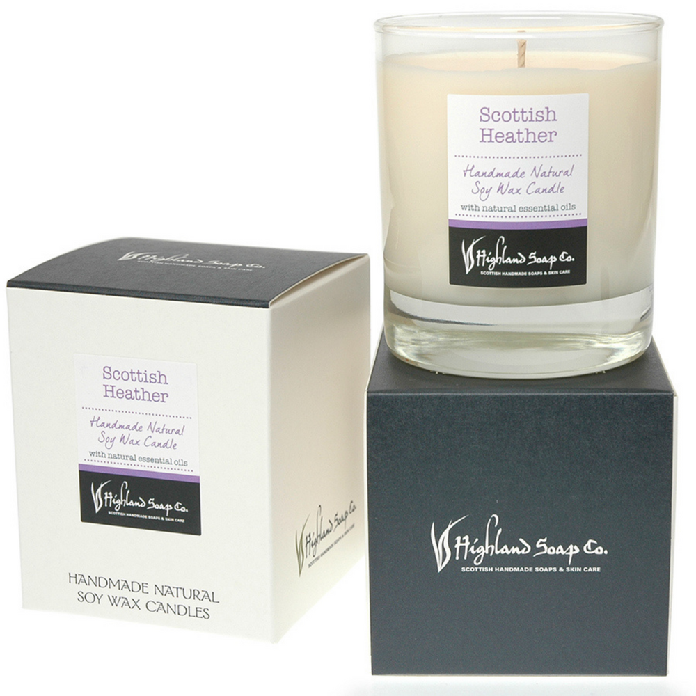 Scottish Heather Soya Wax Candle