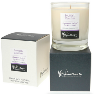 Load image into Gallery viewer, Scottish Heather Soya Wax Candle