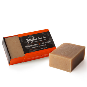 Load image into Gallery viewer, 2 for £9 - Handmade Soap 190g - Sweet Orange & Cinnamon