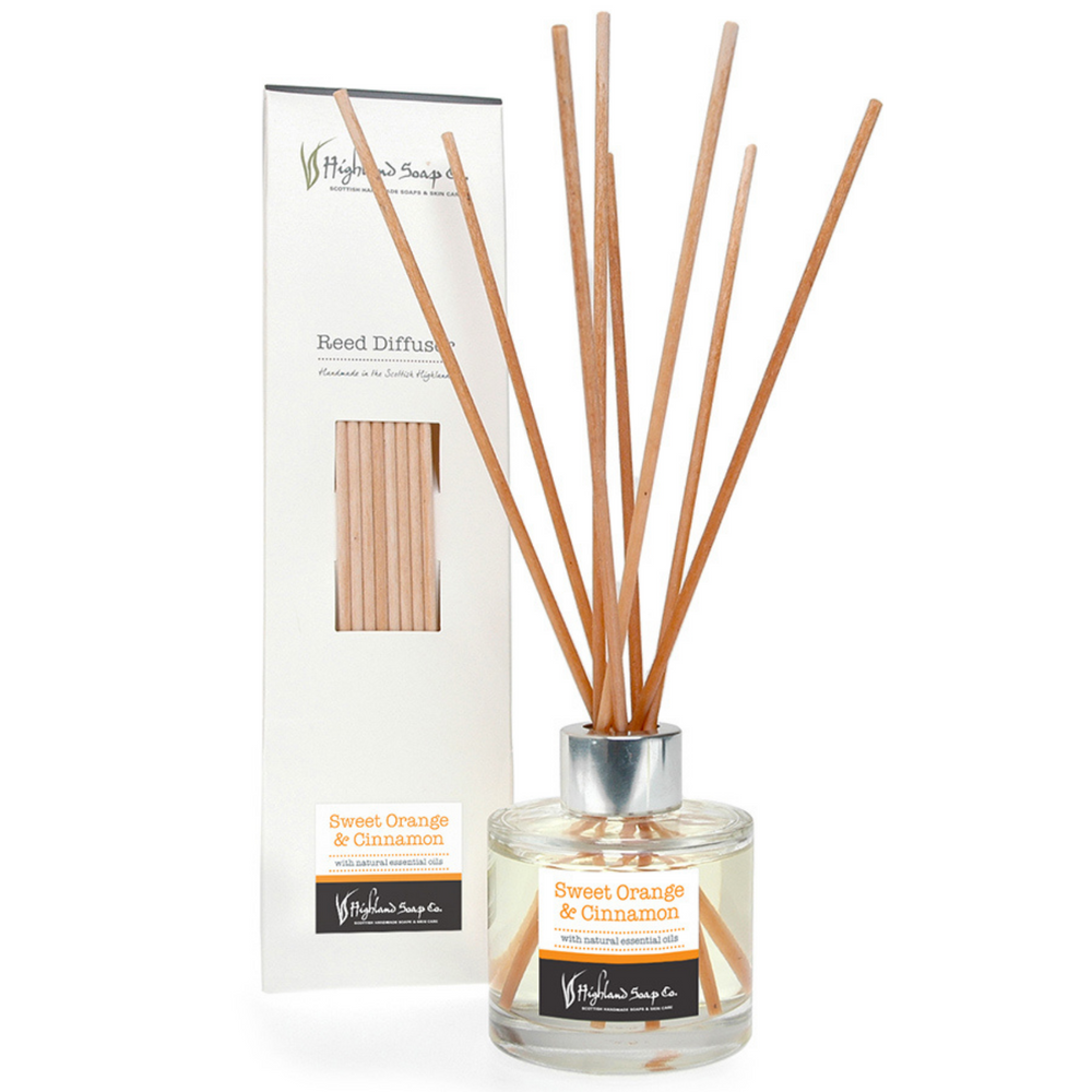 Sweet Orange & Cinnamon Reed Diffuser