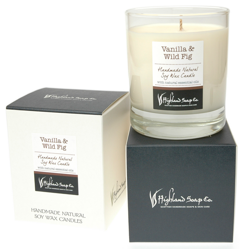 Vanilla & Wild Fig Soya Wax Candle