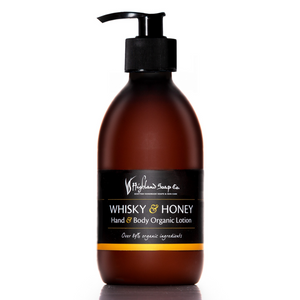 Load image into Gallery viewer, Whisky & Honey Hand & Body Lotion 300ml
