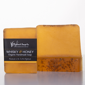 Load image into Gallery viewer, Whisky & Honey Soap 140g