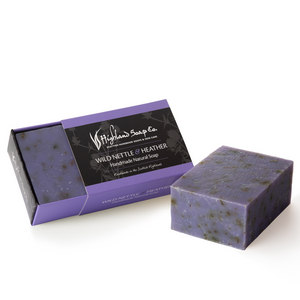 Load image into Gallery viewer, 2 for £9 - Handmade Soap 190g - Wild Nettle & Heather