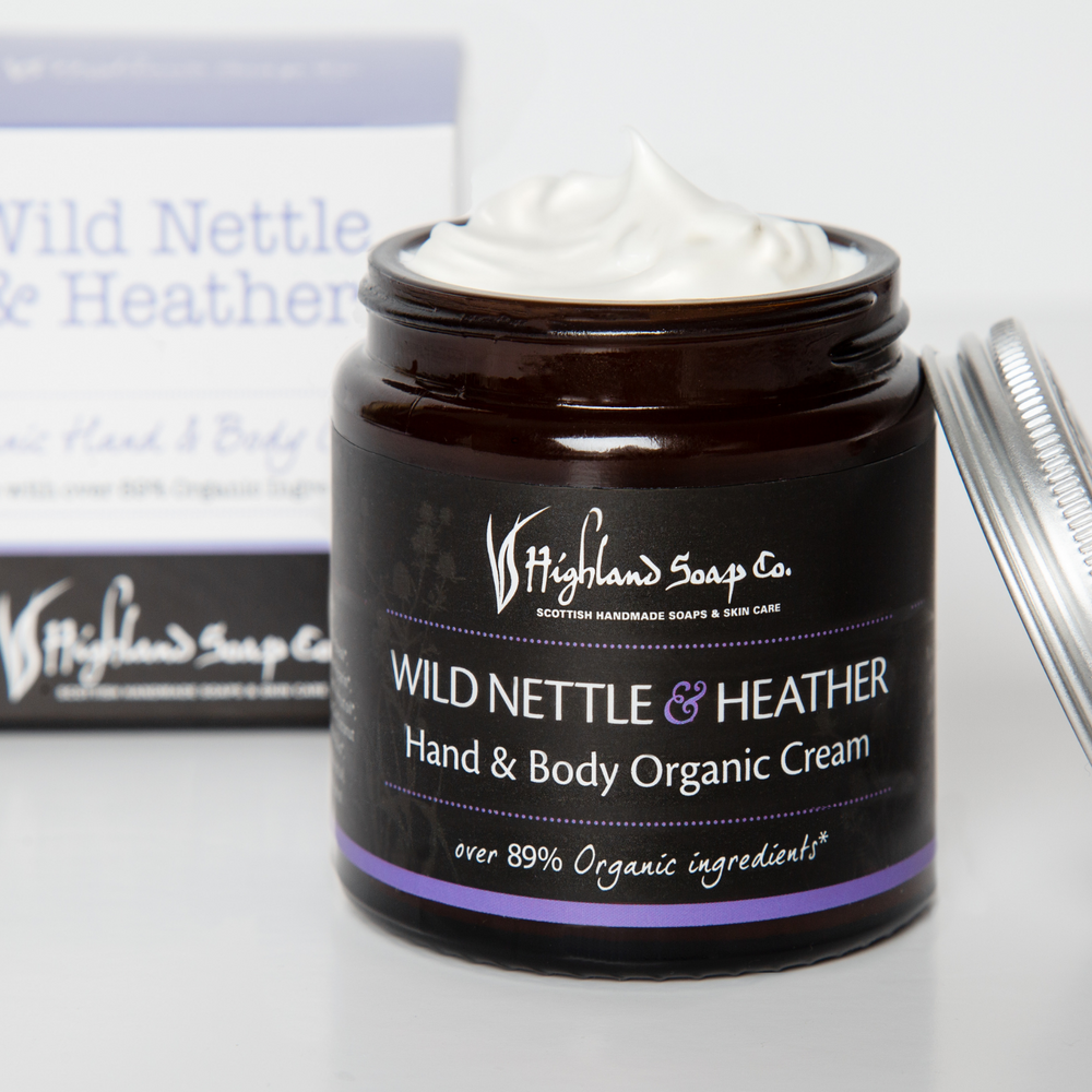Load image into Gallery viewer, Wild Nettle & Heather Hand & Body Cream 120ml