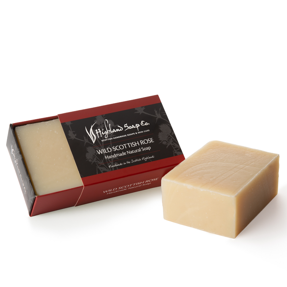 Load image into Gallery viewer, 2 for £9 - Handmade Soap 190g - Wild Scottish Rose