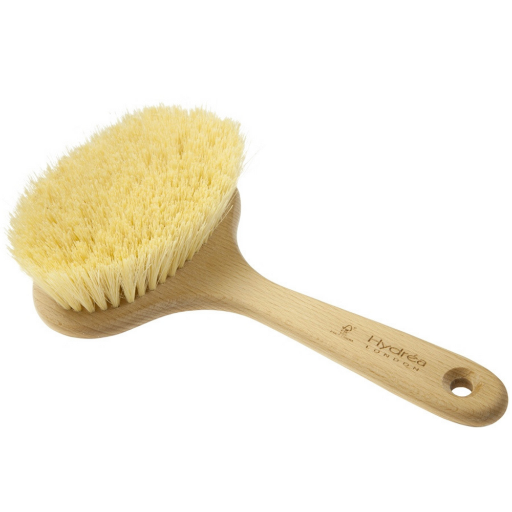 Short Handle Cactus Bristle Spa Brush (Firm)