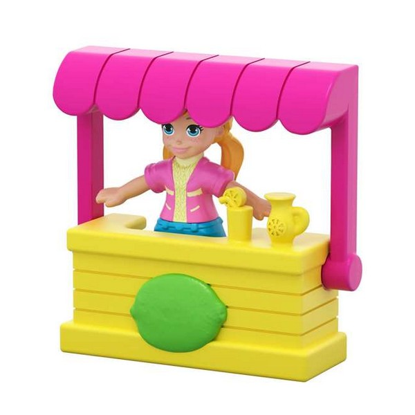 Playset Polly Farmers Market Mattel